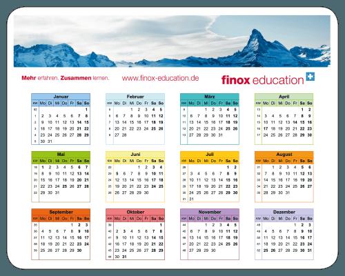 Mousepad Anwendungsbeispiele Kalender Shortcut-Hilfe Team-Motivation Ordnungsmittel